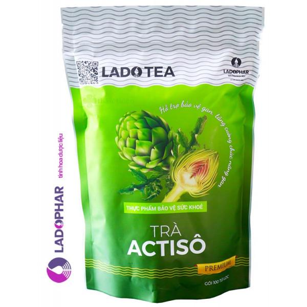 Детокс зеленый чай Actiso Ladophar (200 гр)