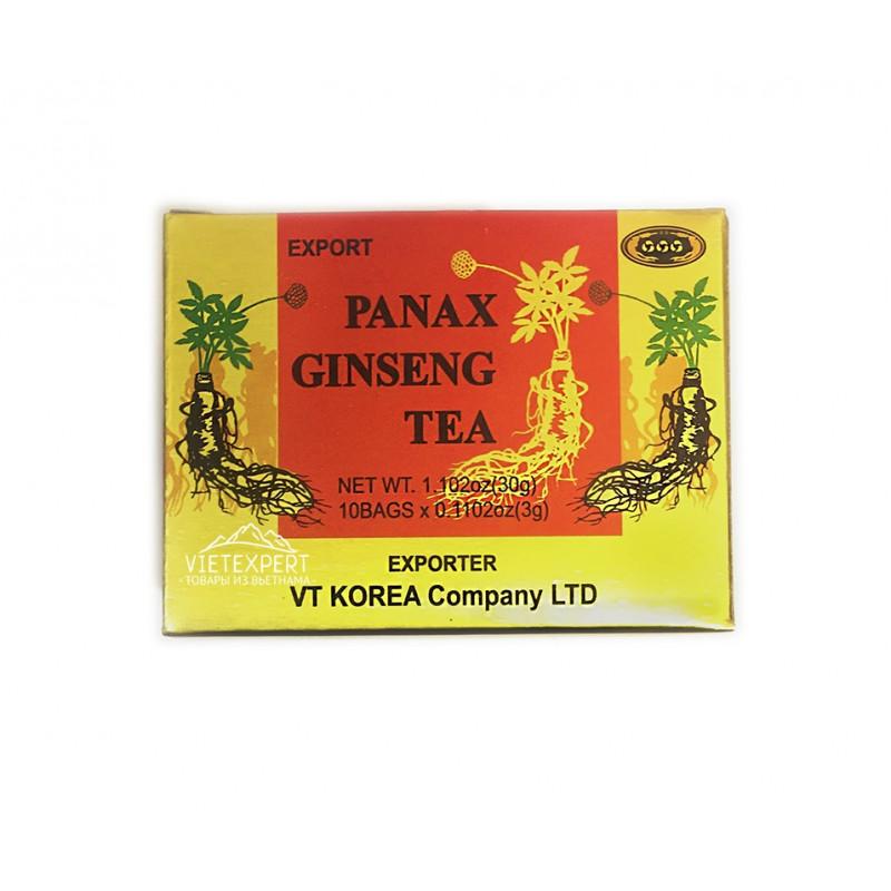 Panax Ginseng Tea чай из корня женьшеня