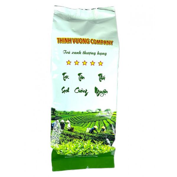 Зеленый крупнолистовой чай (200 грамм)