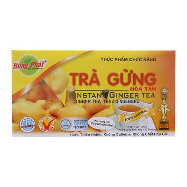 Hung Phat вьетнамский имбирный чай (20 пак. x 10 гр.)