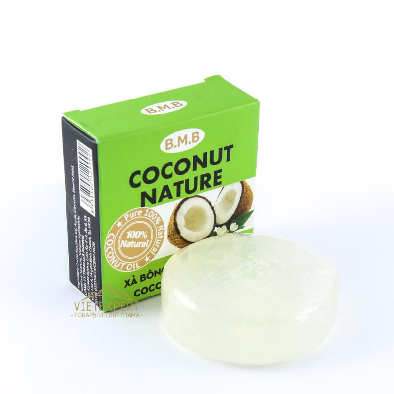 Мыло из кокосового масла B.M.B. Coconut nature soap