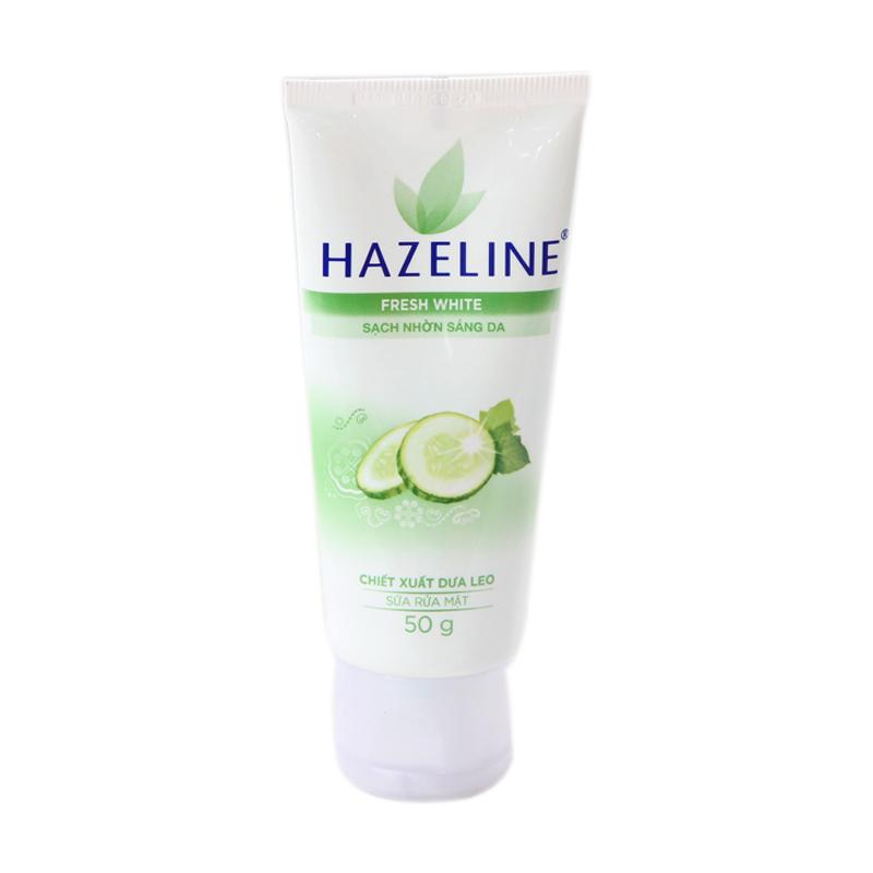 Hazeline Fresh White молочко для жирной кожи