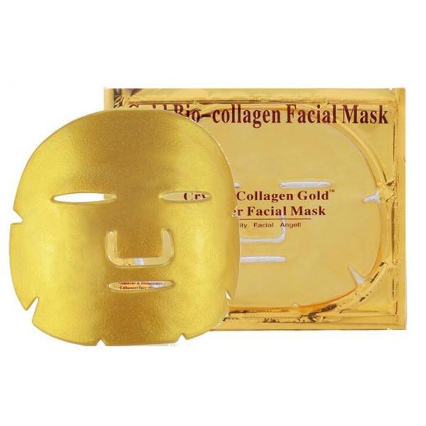 Золотая гидрогелевая маска для лица с био-коллагеном Gold Bio-collagen Facial Mask