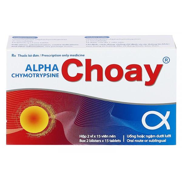 Alpha Choay противоотечные таблетки (20 штук)