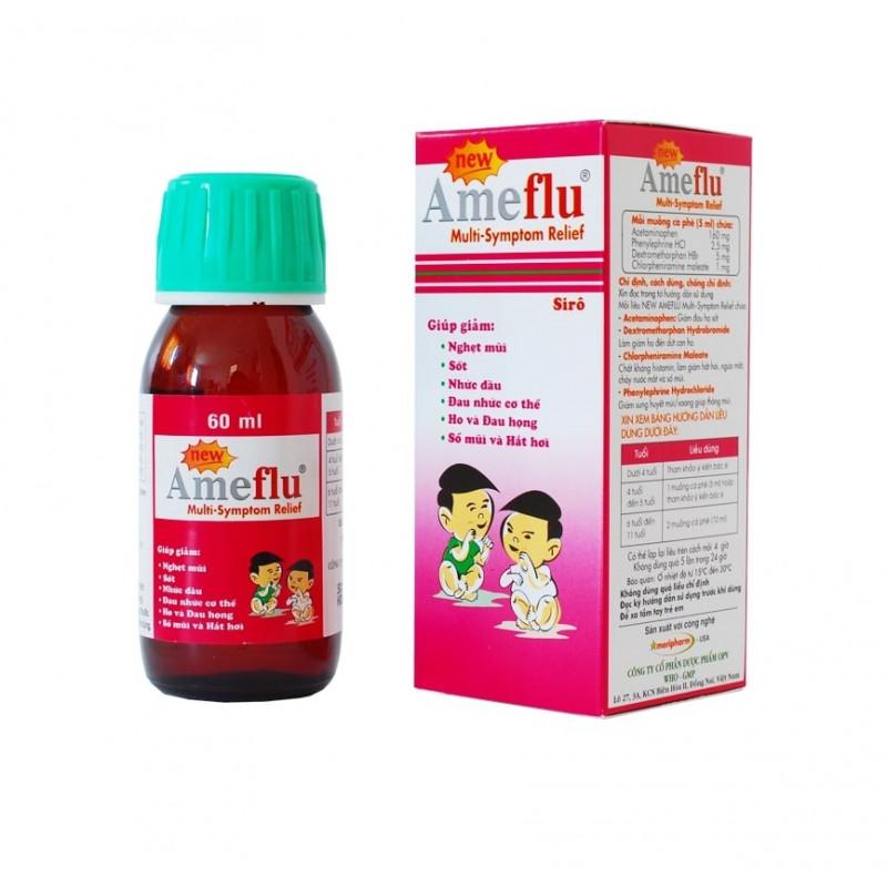 Ameflu детский сироп