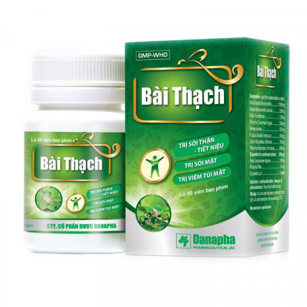 Препарат из Вьетнама от камней в почках Bai Thach (45 кап.)