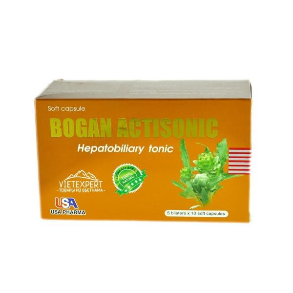 Препарат для терапии печени Bogan Actisonic ( 50 капсул )