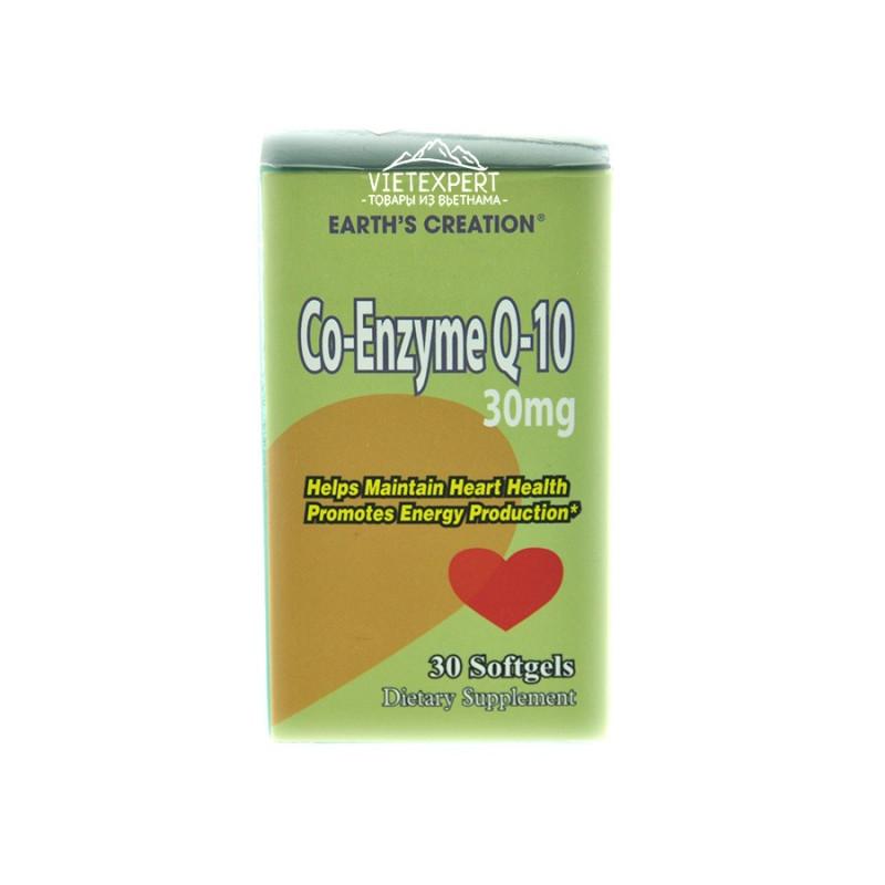 Co-Enzyme Q-10 препарат с коэнзимом