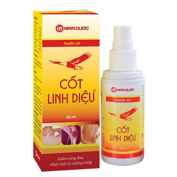 Спрей против боли в суставах и мышцах Cot Linh Dieu (50 мл)