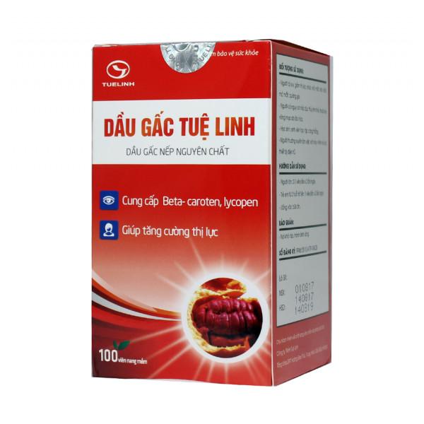 Dau Gac Tue Linh с момордикой для глаз (100 капсул)