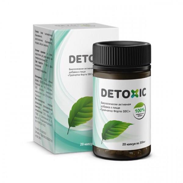 Купить Detoxic (Детоксик) (20 капсул)