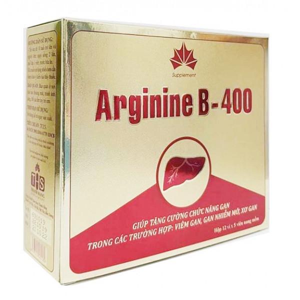 EU-Arginine для регенерации клеток печени (60 капсул)