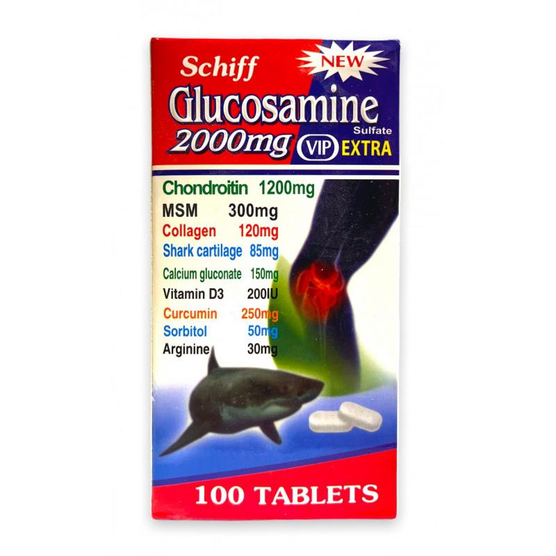 Усиленный глюкозамин Schiff