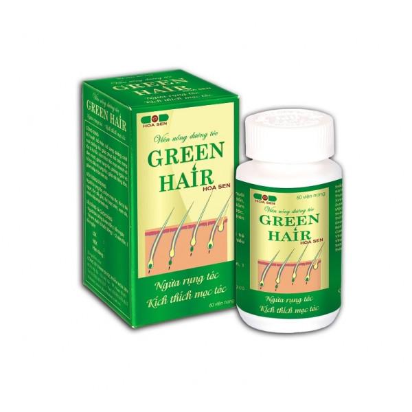 Витамины Green Hair для волос