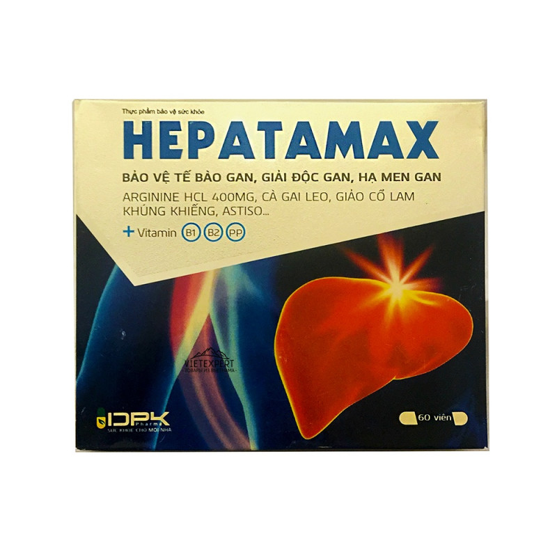 Hepatamax для терапии гепатита (60 капс)