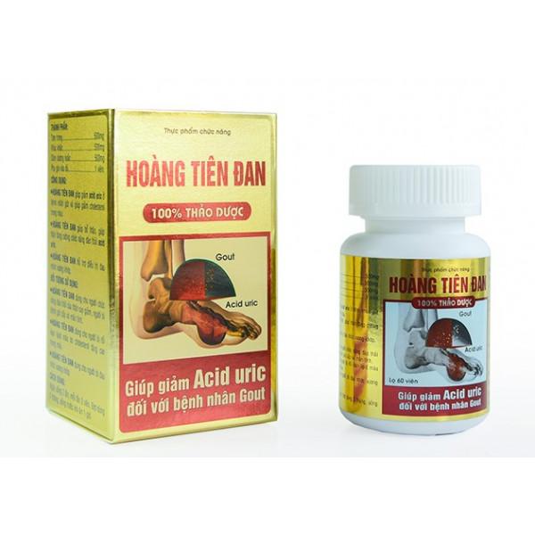 Hoang Tien Dan вьетнамский препарат от подагры