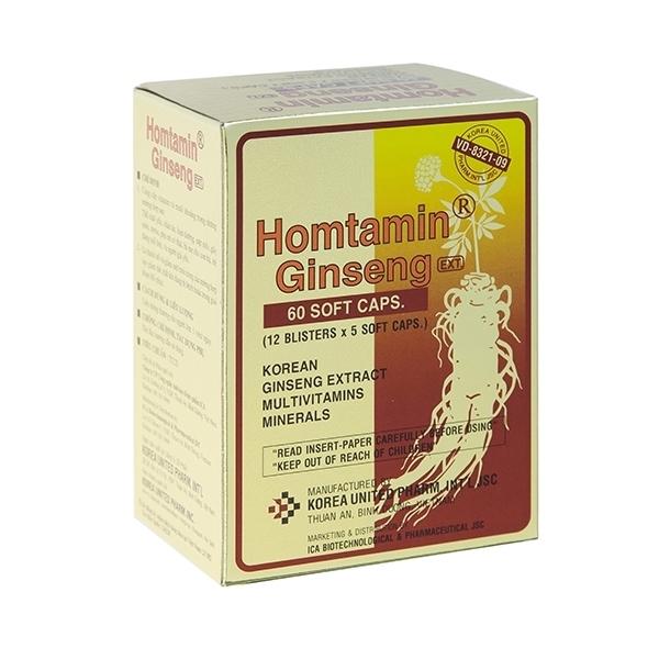 Homtamin Ginseng (60 капсул)