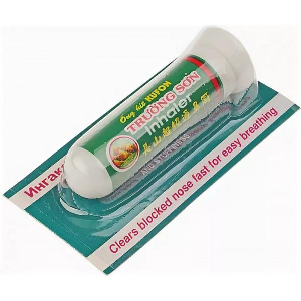 Интраназальный ингалятор-карандаш Ингакамф от простуды и заложенности носа, Truong Son