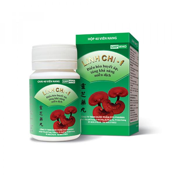 Капсулы Linh Chi F с грибом линчжи (40 шт.)