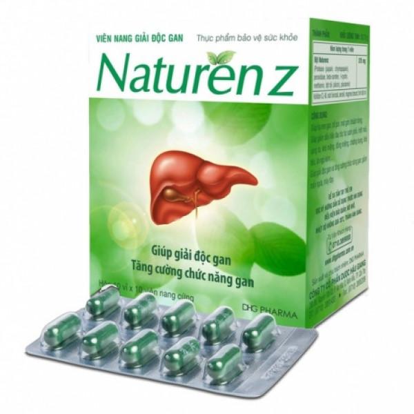 Naturen-Z caps для печени из Вьетнама (100 капсул)
