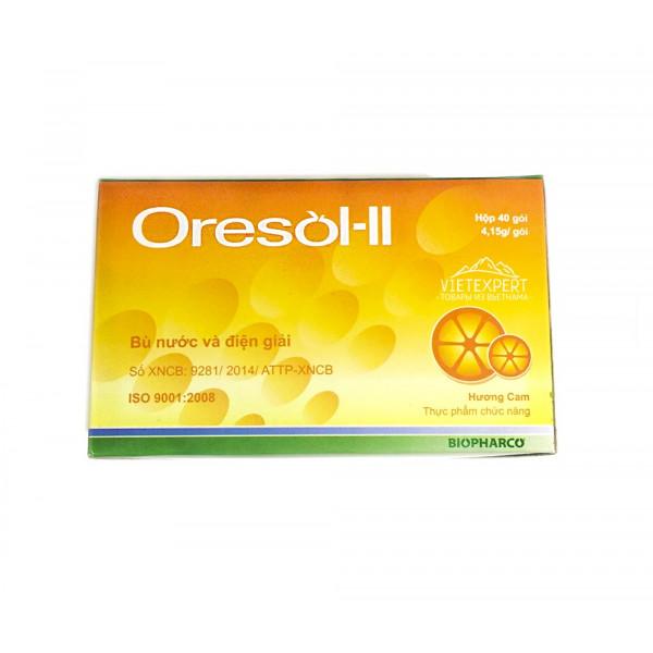 Oresol ll для восстановления водно-солевого баланса (1 пакетик 4.15 гр)