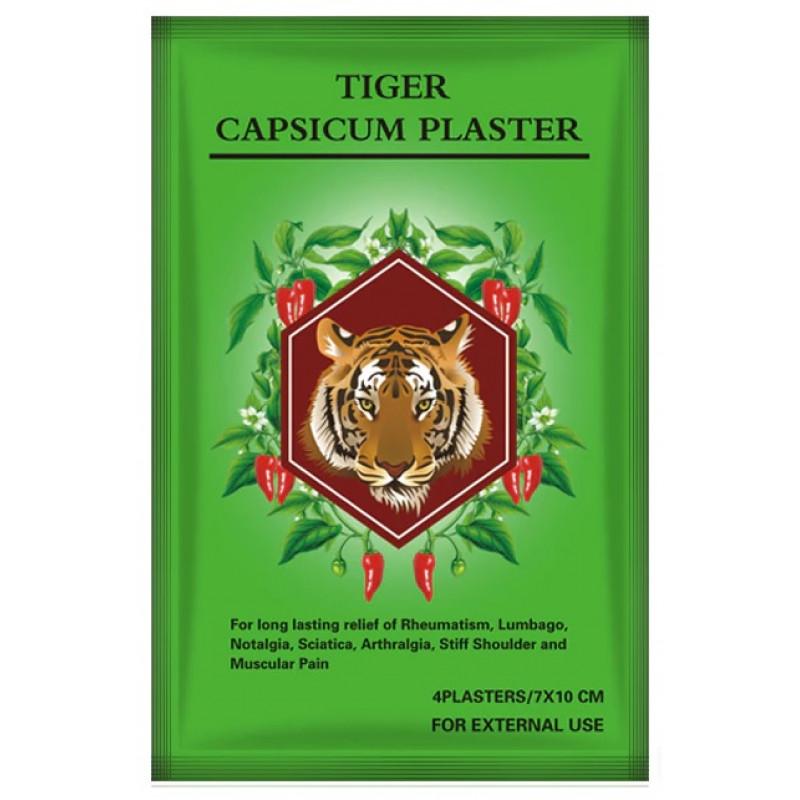 Пластырь Белый Тигр обезболивающий