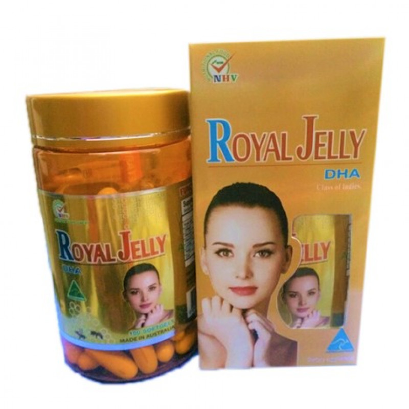 Royal Jelly капсулы с маточным молочком