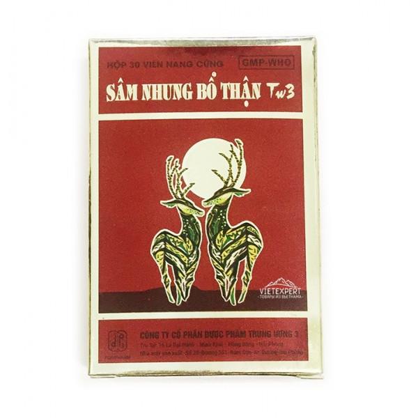 Sam Nhung Bo Than для потенции из Вьетнама (30 капсул)
