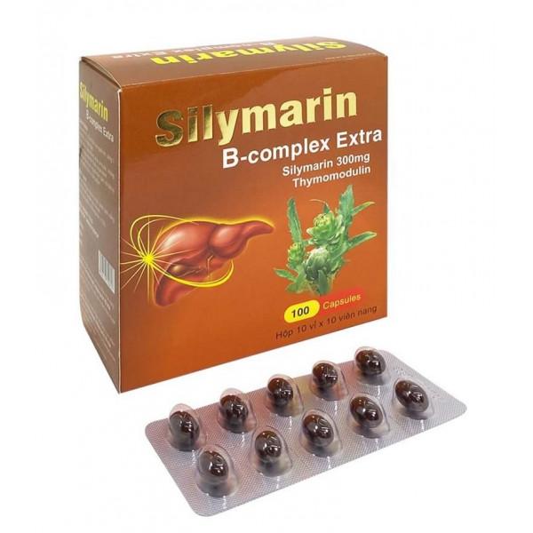 Silymarin B Complex Extra для вашей печени (100 капсул)