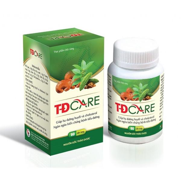 TD Care таблетки от диабета (60 шт.)