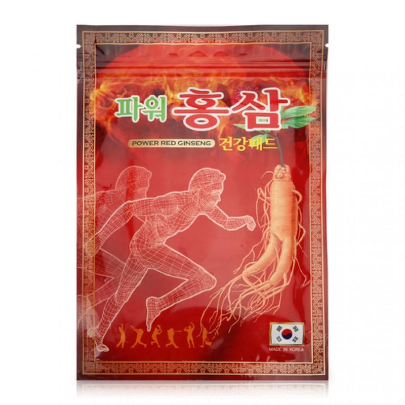 Пластырь Power Red Ginseng