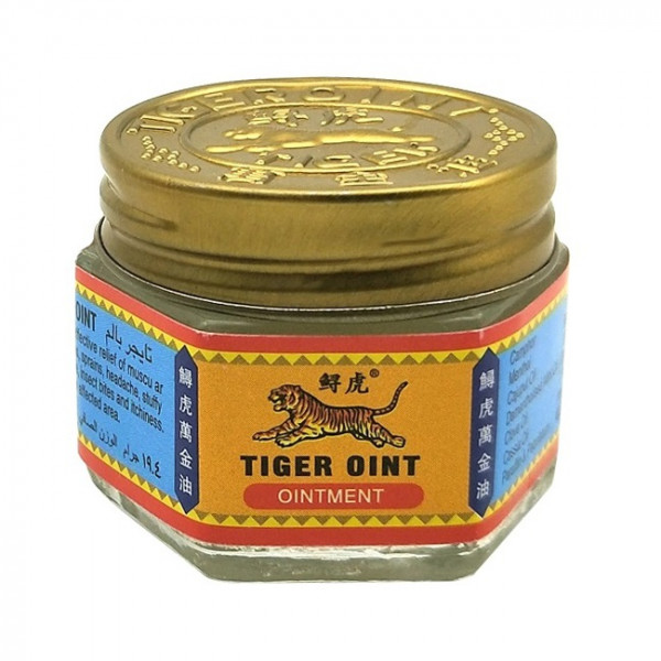 Tiger Balm Red Ointment бальзам против боли (19.4 гр)