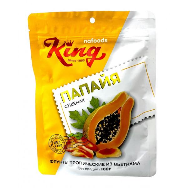 Сушеный фрукт папайя (100 гр.)