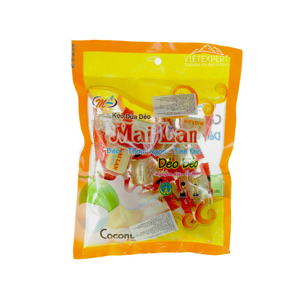 Вьетнамские конфеты Mai Lan Deo Beo (240 гр.)