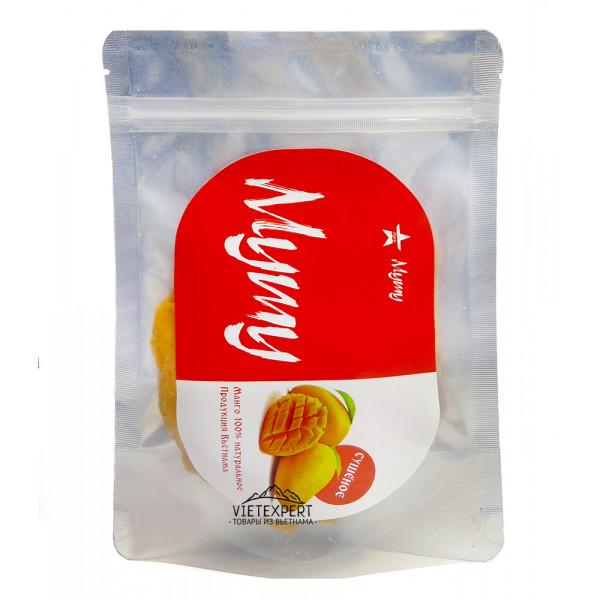 Натуральный сушеный манго Mymy (150 грамм)