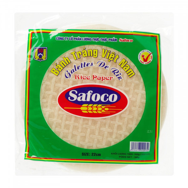 Рисовая бумага из Вьетнама Safoco (22 см, 300 грамм)